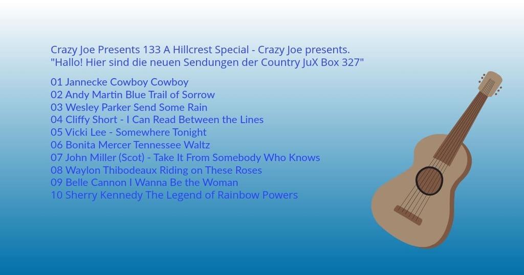 Crazy Joe Presents 133